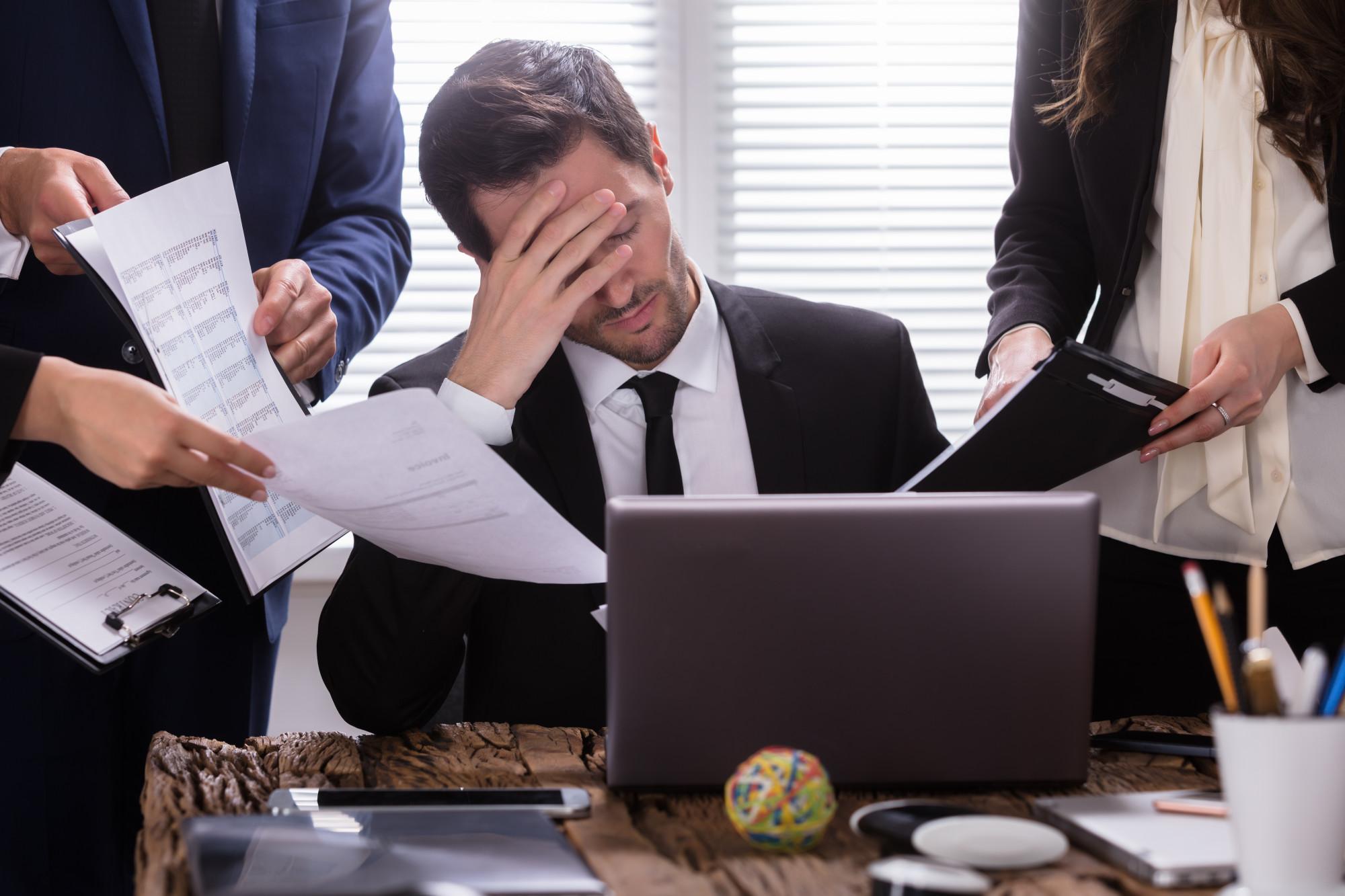 struggling business