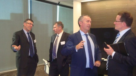 Dr Mark Strom Chair 2020, Andrew Cutler Director Pulse Australasia, Tom O'Donnell VP Credit Suisse, Tim Trumper Director Quantium