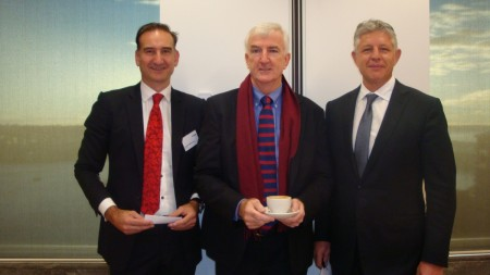 Facilitator Andrew Mackenzie CEO AltusQ, Interviewer Michael Pascoe, David Kelynack CEO 2020 X