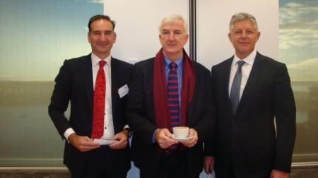 Facilitator Andrew Mackenzie CEO AltusQ, Interviewer Michael Pascoe, David Kelynack CEO 2020 X